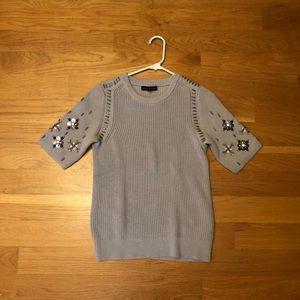 NWT Embellished sweater